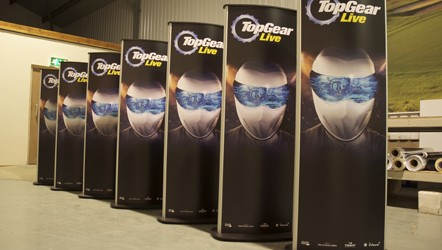 POD Stands with interchangeable Forex PVC graphics
