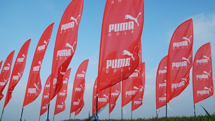 Printed Beach Flags printed on 115gsm polester