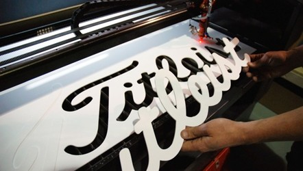 Laser Cutter for custom lettering