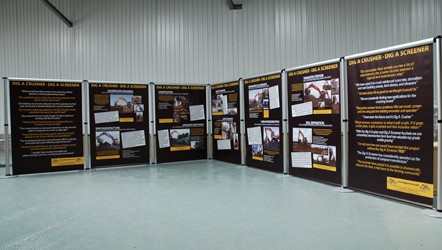 Interchangeable Aero Display printed on PVC Banner