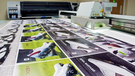 UV Flatbed for printing direct to substrate